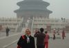 2004 BEIJING: Charlynn Johns visits the sites