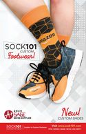 Dress Socks, Athletic Socks, Fuzzy Socks, Yoga, Custom Printed Sneakers, Slides, & Boots,