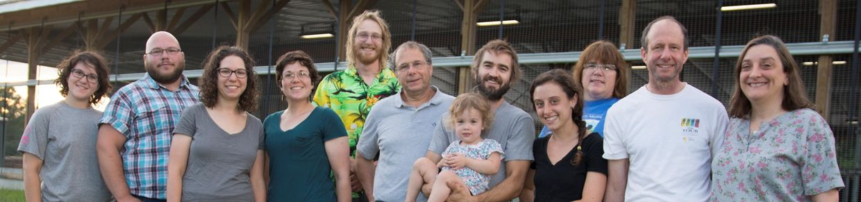 the multi-generational dairy farm family at Freund's Farm