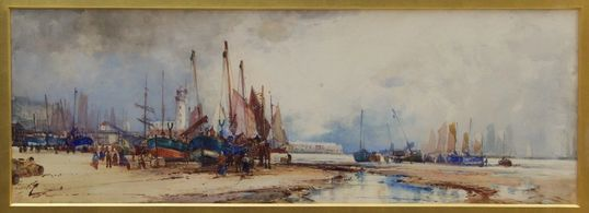 "An exciting new exhibition entitled ""Ashore and Afloat. The Art of Frank Henry Mason"" will take plac"