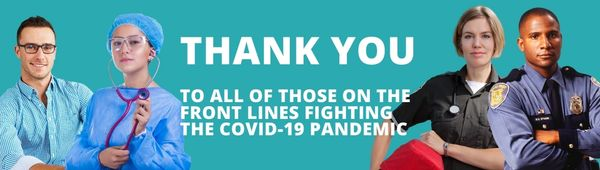 Thank you to all those fighting on the front line during COVID-19