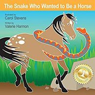 The Snake Who Wanted to Be a Horse, an illustrated children's picture book, storybook, for kids.