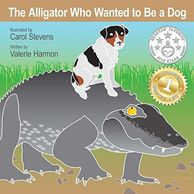 The Alligator Who Wanted to Be a Dog, an illustrated children's picture book, storybook, for kids.