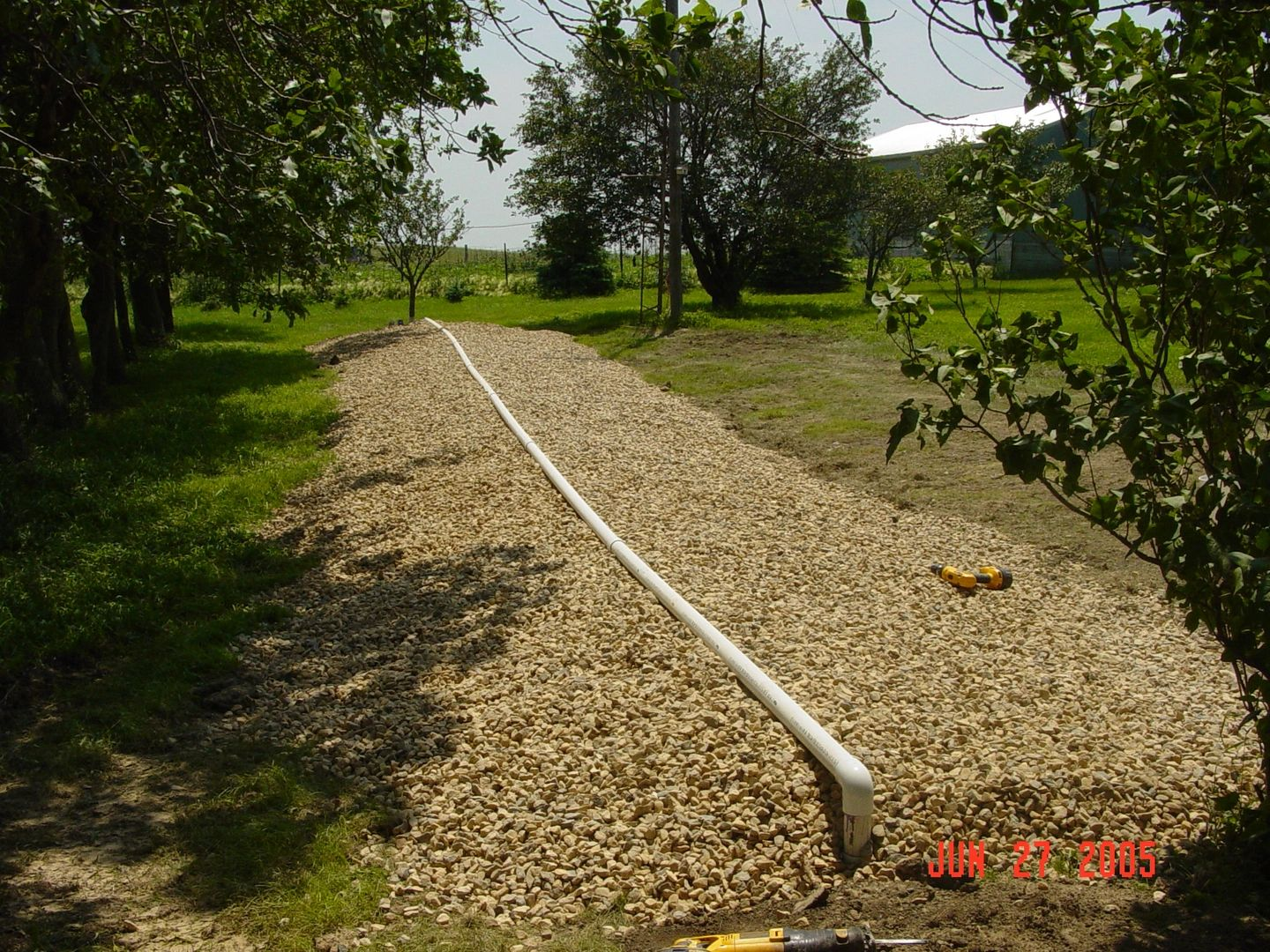 An example of a septic system.