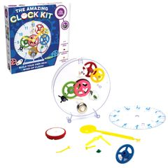 The Amazing Clock Kit features make your own clock DIY kit, promotes fine motor skills & sequencing
