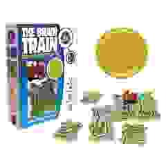 The Brain Train features add/subtract math puzzles & wind up train, promotes numeracy & sequencing