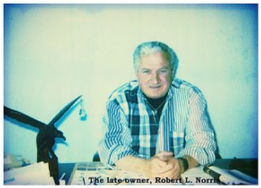 Old Photo of Robert L. Norris, the founder of Eagle Construction
