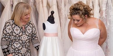 Ever After Bridal is a boutique wedding dress shop based in the Wakefield area.