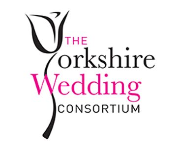 The Yorkshire Wedding Consortium Logo. Wedding fairs in Yorkshire. Located at Pontefract Racecourse