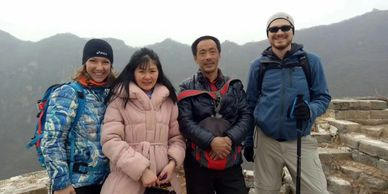 Great Wall tour guides