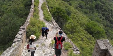 Great Wall adventure hiking