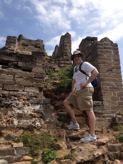 Scott Hanson hiked the Great Wall