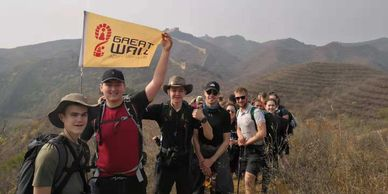 Great Wall group hiking tour