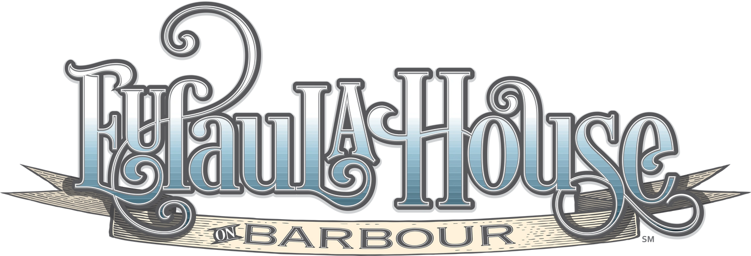 Logotype for the Eufaula House on Barbour. It is a bed and breakfast located in Eufaula, Alabama.