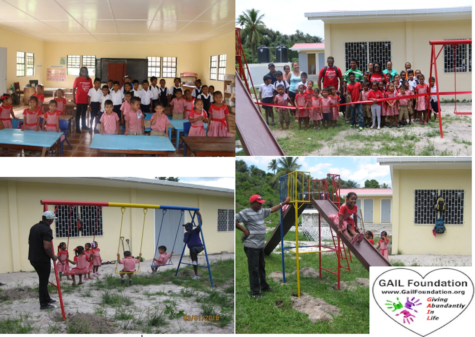 "{""blocks"":[{""key"":""eon53"",""text"":""2018 SIPARUTA NURSERY SCHOOL in Guyana, South America received a 3 seater swing, double sea-saw, double slide and toys for 30 children.  These children live in a rainforest type village that is a 4 hour boat ride from the mainland.  This was the first outdoor play equipment on the remote island, where some individuals still live in tents."",""type"":""unstyled"",""depth"":0,""inlineStyleRanges"":[{""offset"":0,""length"":38,""style"":""BOLD""},{""offset"":0,""length"":38,""style"":""UNDERLINE""}],""entityRanges"":[],""data"":{}}],""entityMap"":{}}"