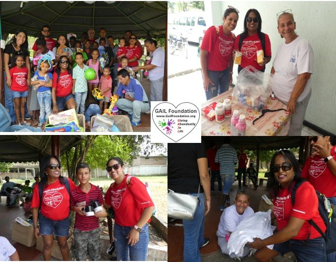 "{""blocks"":[{""key"":""5qcjd"",""text"":""2019 FUNDACIÓN CASA DE RESTAURACIÓN ELI-EZER  in Colombia, South America.  The GAIL Foundation Inc team met the children at this children home and gave them 20+ new sneakers, medical supply kits, bed sheets for 20+ beds and toys for all children & play room.  Lastly, we donated 2 soccer goals and 10 soccer balls."",""type"":""unstyled"",""depth"":0,""inlineStyleRanges"":[{""offset"":0,""length"":57,""style"":""BOLD""},{""offset"":0,""length"":44,""style"":""UNDERLINE""}],""entityRanges"":[],""data"":{}},{""key"":""8ucth"",""text"":"" "",""type"":""unstyled"",""depth"":0,""inlineStyleRanges"":[],""entityRanges"":[],""data"":{}}],""entityMap"":{}}"
