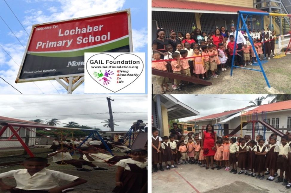 "{""blocks"":[{""key"":""f21ri"",""text"":""2017 LOCHABER PRIMARY SCHOOL in Guyana, South America received a 3 seater swing, double sea-saw, double slide and toys for 80 children.  This school is located next to a sugar cane field, a very rural town.  The children were so thankful for the outdoor play equipment, they sung songs and read poems for over 2 hours during the red ribbon cutting ceremony.  WATCH LIVE TV COVERAGE ON RED RIBBON CUTTNG - https://youtu.be/C8vW76U2gbEhttps://youtu.be/C8vW76U2gbE"",""type"":""unstyled"",""depth"":0,""inlineStyleRanges"":[{""offset"":0,""length"":53,""style"":""BOLD""},{""offset"":0,""length"":53,""style"":""UNDERLINE""}],""entityRanges"":[{""offset"":359,""length"":43,""key"":0}],""data"":{}}],""entityMap"":{""0"":{""type"":""LINK"",""mutability"":""MUTABLE"",""data"":{""target"":""_blank"",""url"":""https://youtu.be/C8vW76U2gbE""}}}}"