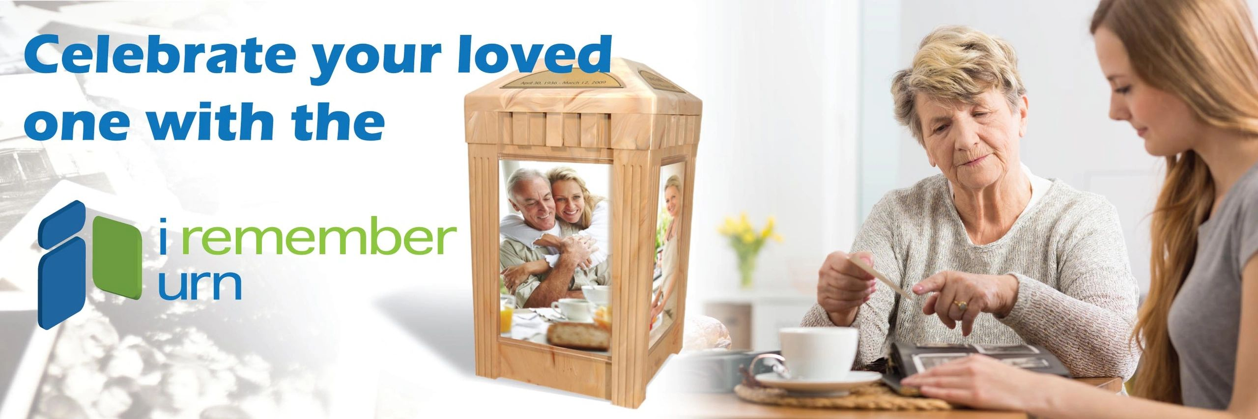 Celebrate your loved one with the I Remember Urn.