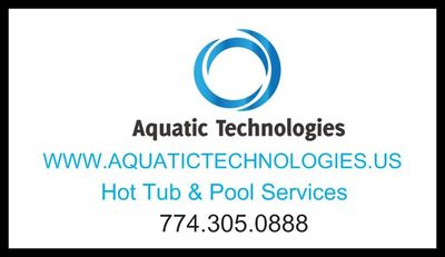 Aquatic technologies Inc. Business card
