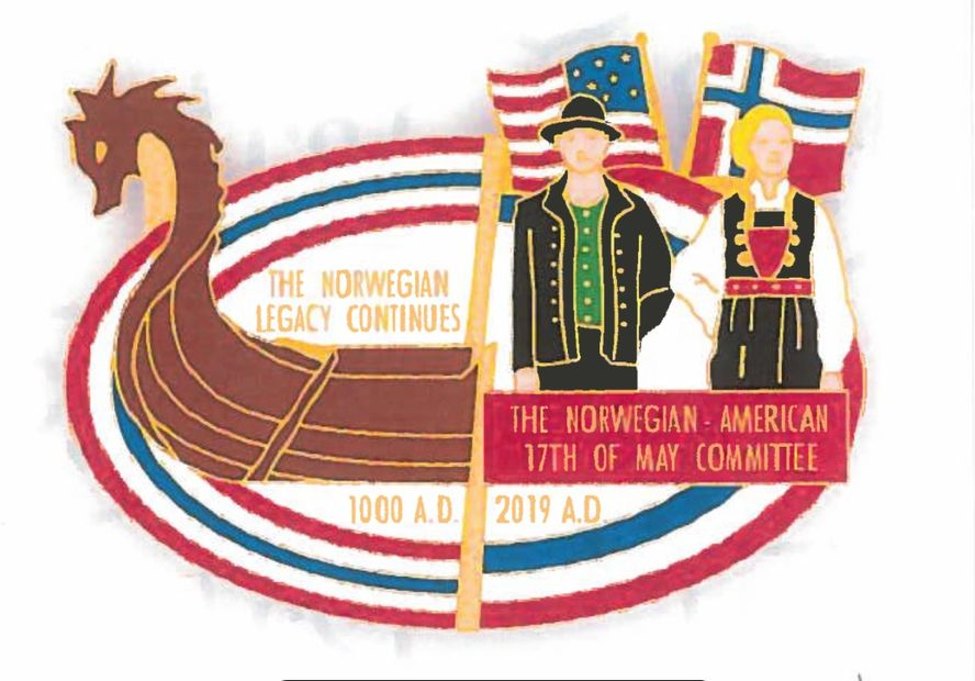 "2019 Parade Pin ""The Norwegian Legacy Continues"""