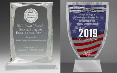 2019 Small Business Excellence Award  & Business Hall of Fame 2019 7th Consecutive year
