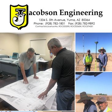 Jacobson Engineering provides Civil Engineering and Land Surveying in the Lower Colorado River Regio