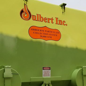 Julbert industrial dust collectors painting sandblasting and oil field