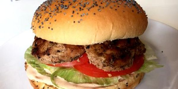 Spicy Marinated Chicken burger