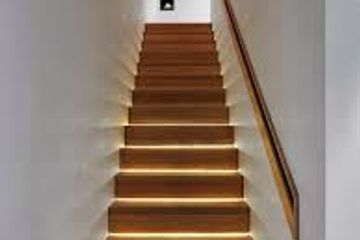 Lighted Staircase - Safe