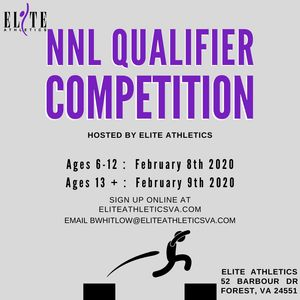 NNL qualifier competition flyer