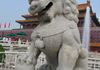Male Fu dog - lion at Forbidden City in Beijing