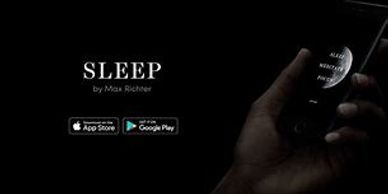 Image of the download page for the Sleep by Max Richter app.