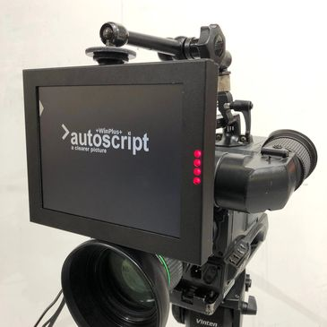 autocue autoscript rental hire london prompting handheld lightweight