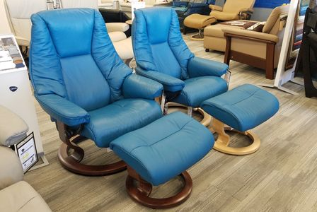 Live Recliner - Paloma Crystal Blue