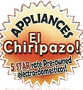 El chiripazo appliances