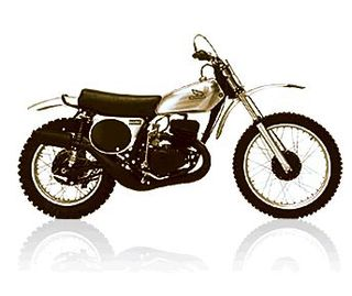 Honda Elsinore Motorcycle CR125M