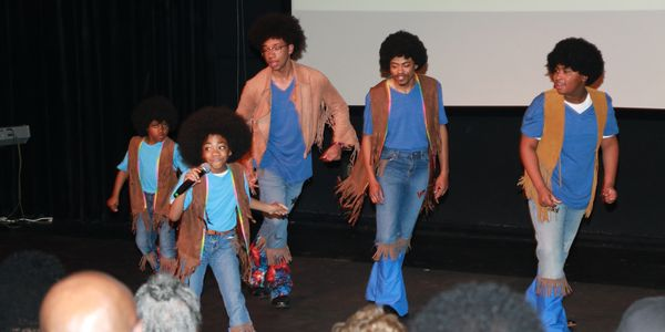 Actors, Dancers, Singers portray the Jackson 5 in the hit Play #WEWOKE