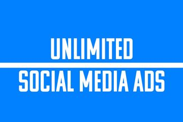 Unlimited Social Media Ads