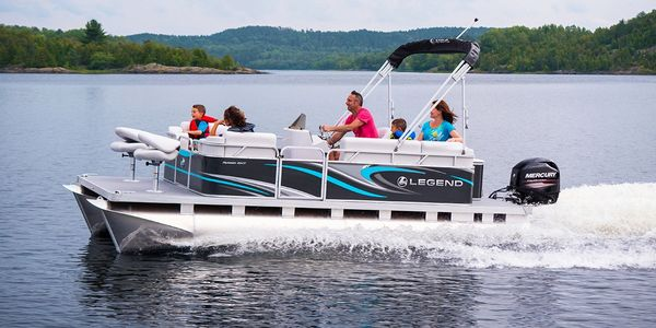 Rent a Pontoon boat from White Lake Marina on White Lake!