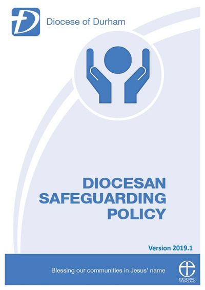 Link to Durham Diocese Safeguarding policy