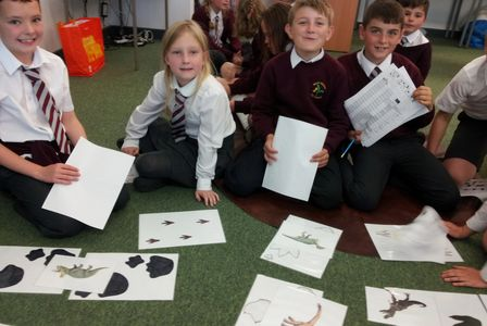 Dinosaur footprint activity working scientifically with dinosaurs dinosaur school workshop