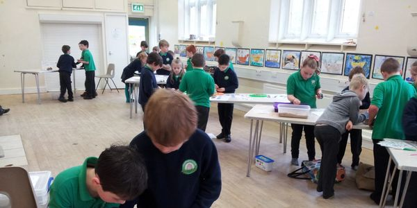 KS2 Key Stage 2 Rocks and Fossils school workshop activities
