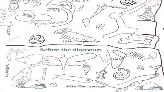 KS1 KS2 dinoaur worksheet