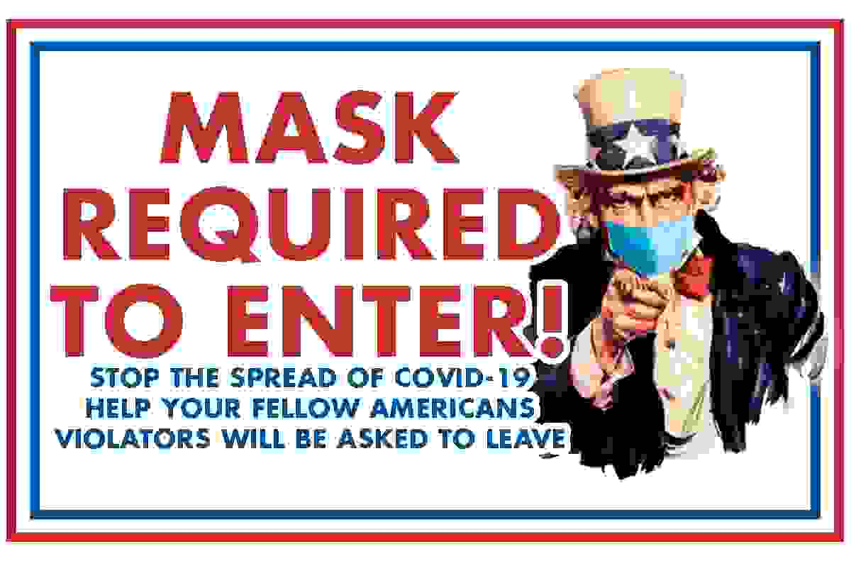 Uncle Sam with Mask