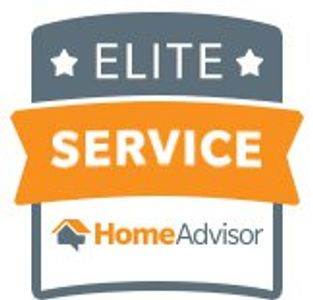 One of our awards from Home Advisor