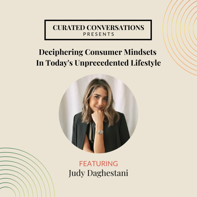 Judy Daghestani Founder Curated ME