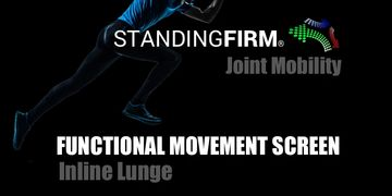 joint mobility lunge functional movement screen