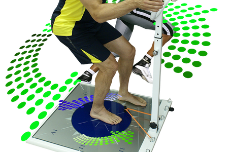Rotation station, Standing Firm, ground-loaded, joint motion, stability, end-range length, strength