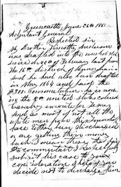 Soldiers Last Letter.Soldiers Letters Allison Antrim Museum