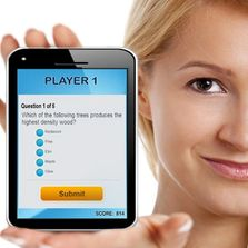 Cellphone Trivia Game
